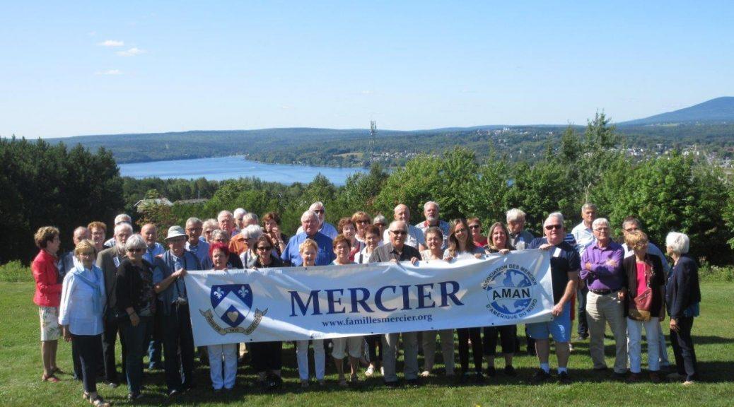 Le rassemblement annuel de l'Association des Mercier de la fin de semaine du 24 et 25 août dernier, tenu à Lac-Mégantic, a été une belle réussite. Merci aux participants et félicitations au président Jacques #341 l'organisateur de cet évènement.